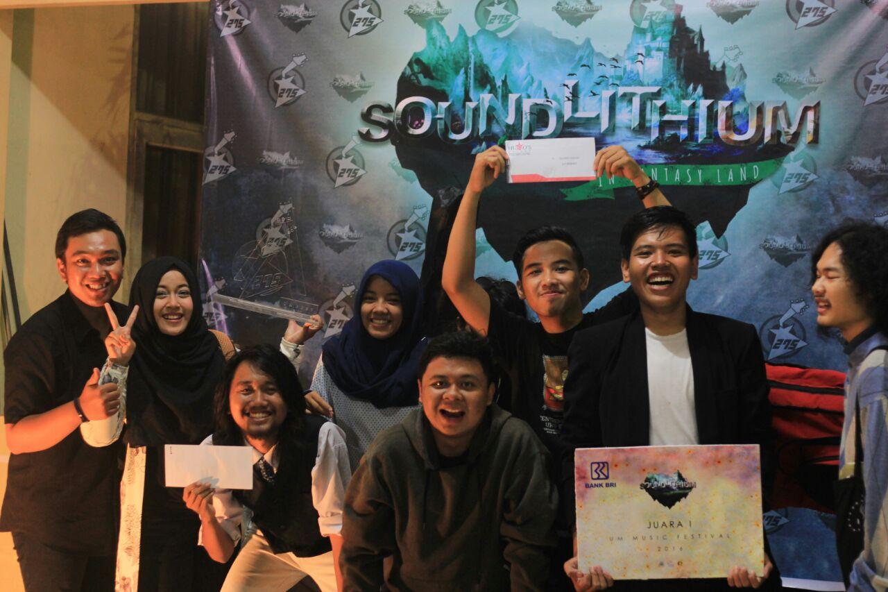 Band CSR PSTM Meraih Juara 1 Pada UM Festival