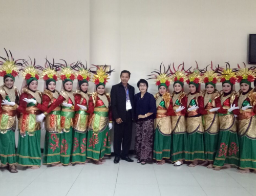 Tari Rodat Syi'iran Turut Memeriahkan Acara Sarasehan Wakil Rektor III Se Indonesia