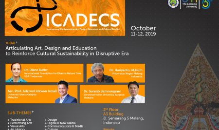JSD Sukses Menyelenggarakan Seminar Internasional ICADECS 2019